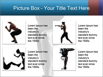 Woman jumping PowerPoint Template - Slide 14