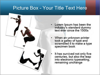 Woman jumping PowerPoint Template - Slide 17