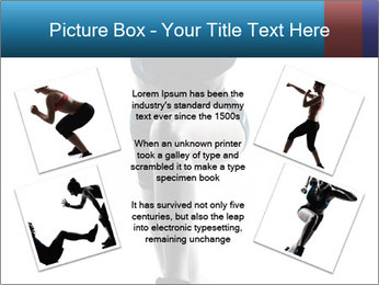 Woman jumping PowerPoint Template - Slide 24