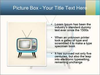 Old television PowerPoint Templates - Slide 13
