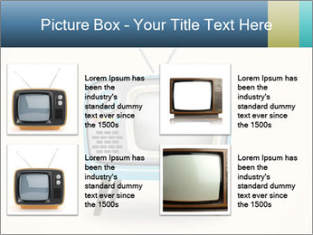 Old television PowerPoint Templates - Slide 14
