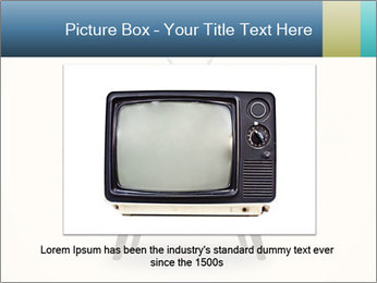Old television PowerPoint Templates - Slide 15