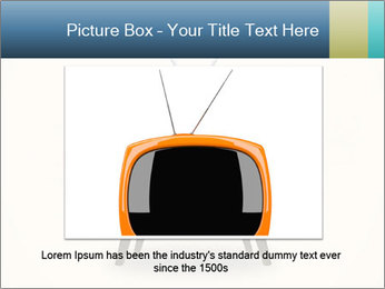 Old television PowerPoint Templates - Slide 16