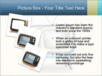 Old television PowerPoint Templates - Slide 17