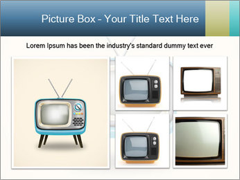 Old television PowerPoint Templates - Slide 19