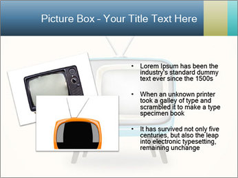 Old television PowerPoint Templates - Slide 20