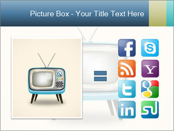 Old television PowerPoint Templates - Slide 21