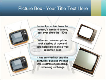 Old television PowerPoint Templates - Slide 24