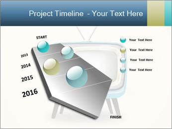 Old television PowerPoint Templates - Slide 26