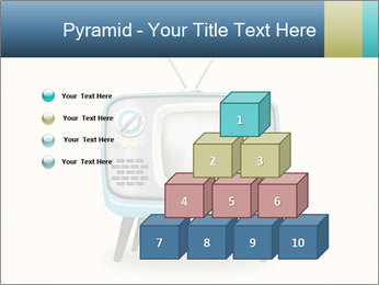 Old television PowerPoint Templates - Slide 31