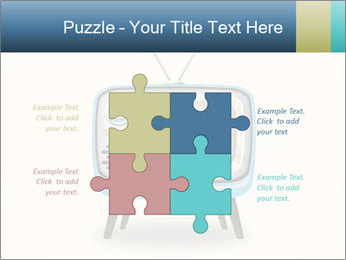 Old television PowerPoint Templates - Slide 43