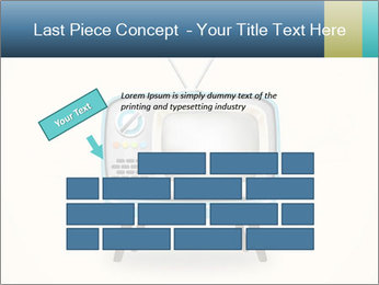 Old television PowerPoint Templates - Slide 46