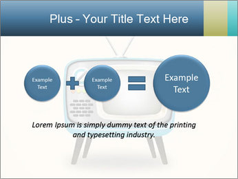 Old television PowerPoint Templates - Slide 75