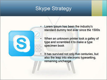 Old television PowerPoint Templates - Slide 8