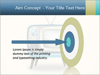 Old television PowerPoint Templates - Slide 83