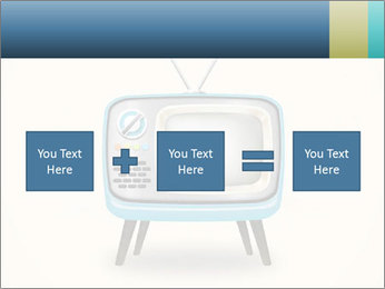 Old television PowerPoint Templates - Slide 95