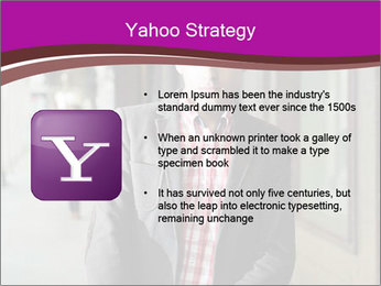 Young handsome man PowerPoint Template - Slide 11