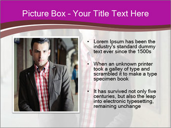 Young handsome man PowerPoint Template - Slide 13