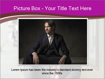 Young handsome man PowerPoint Template - Slide 15