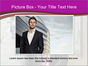 Young handsome man PowerPoint Template - Slide 16