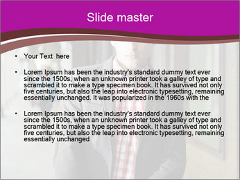 Young handsome man PowerPoint Template - Slide 2
