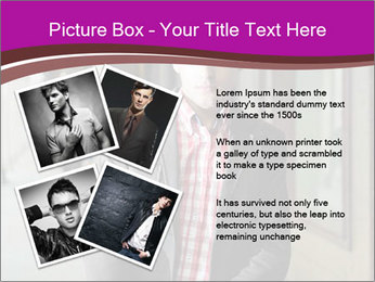 Young handsome man PowerPoint Template - Slide 23