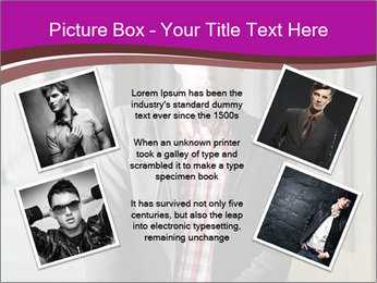Young handsome man PowerPoint Template - Slide 24