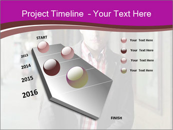Young handsome man PowerPoint Template - Slide 26