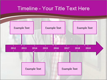 Young handsome man PowerPoint Template - Slide 28