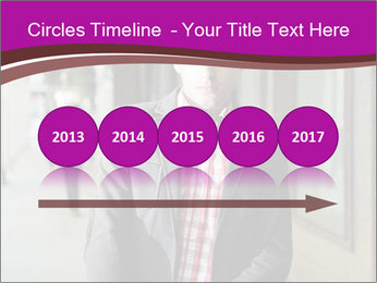 Young handsome man PowerPoint Template - Slide 29