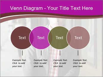 Young handsome man PowerPoint Template - Slide 32