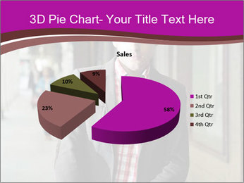 Young handsome man PowerPoint Template - Slide 35