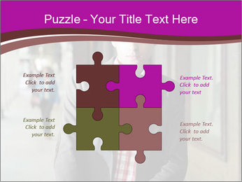 Young handsome man PowerPoint Template - Slide 43
