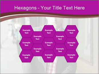 Young handsome man PowerPoint Template - Slide 44