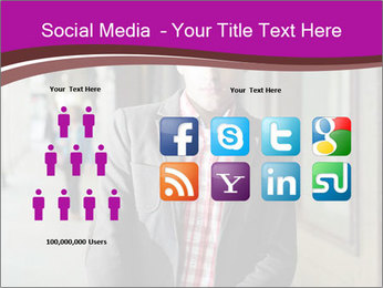 Young handsome man PowerPoint Template - Slide 5