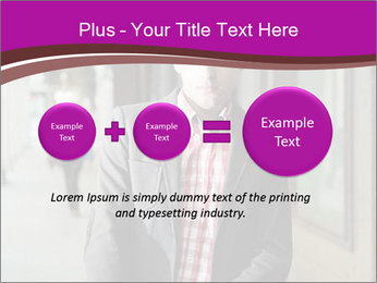 Young handsome man PowerPoint Template - Slide 75