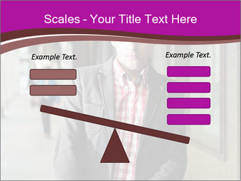 Young handsome man PowerPoint Template - Slide 89