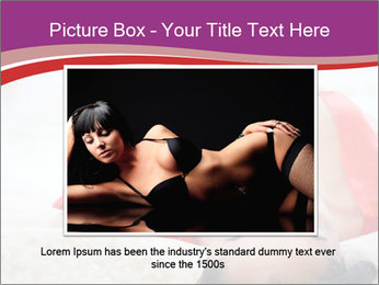 Mature woman PowerPoint Template - Slide 16