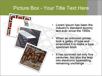 Close-up image of stent PowerPoint Template - Slide 17
