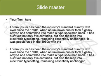 Close-up image of stent PowerPoint Template - Slide 2