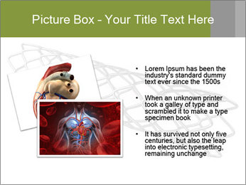 Close-up image of stent PowerPoint Template - Slide 20