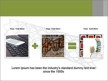 Close-up image of stent PowerPoint Template - Slide 22