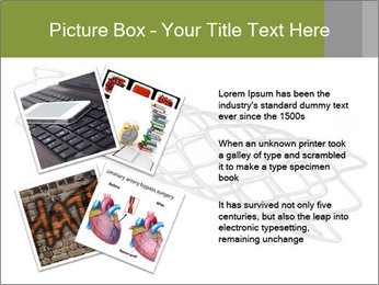 Close-up image of stent PowerPoint Template - Slide 23