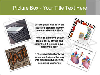 Close-up image of stent PowerPoint Template - Slide 24