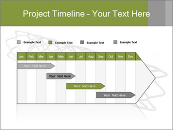 Close-up image of stent PowerPoint Template - Slide 25
