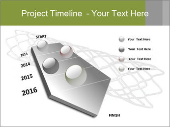 Close-up image of stent PowerPoint Template - Slide 26