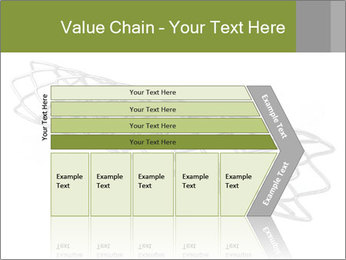 Close-up image of stent PowerPoint Template - Slide 27