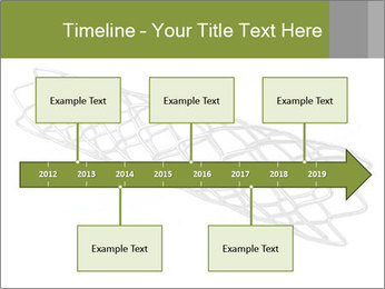 Close-up image of stent PowerPoint Template - Slide 28