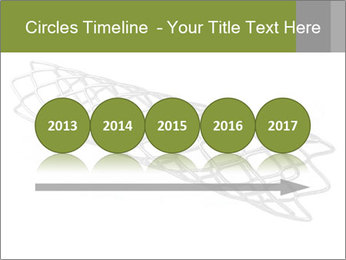 Close-up image of stent PowerPoint Template - Slide 29