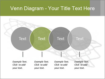 Close-up image of stent PowerPoint Template - Slide 32